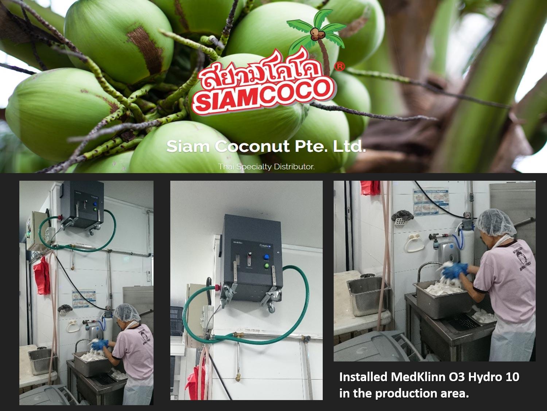 Siam Coconut Pte Ltd Production Area