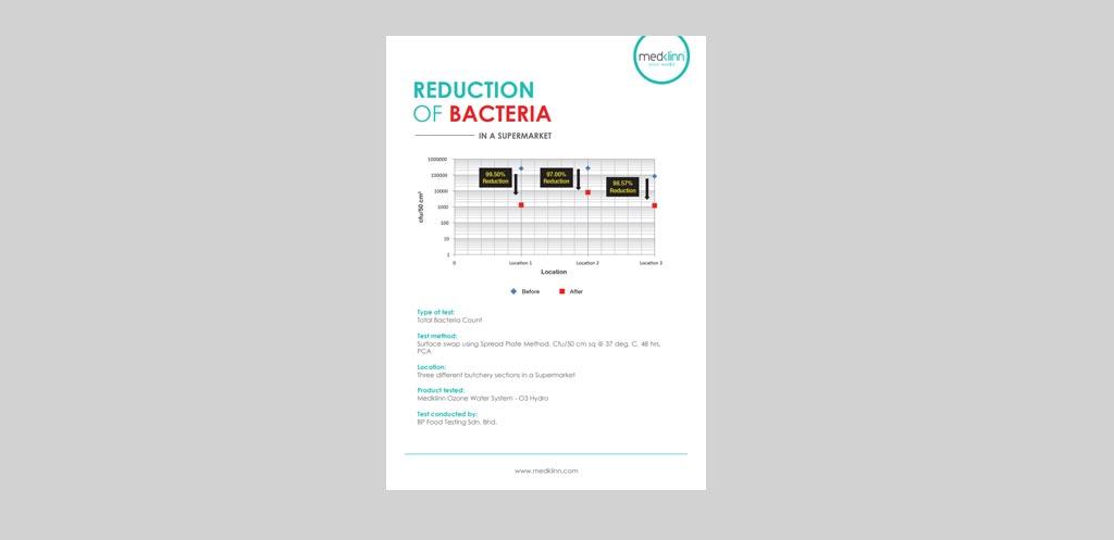 Medklinn Reduction Of Bacteria In A Supermarket